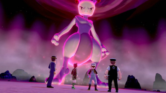 Pokemon Sword and Shield: Mewtwo and Kanto Starters in Max Raid Battles