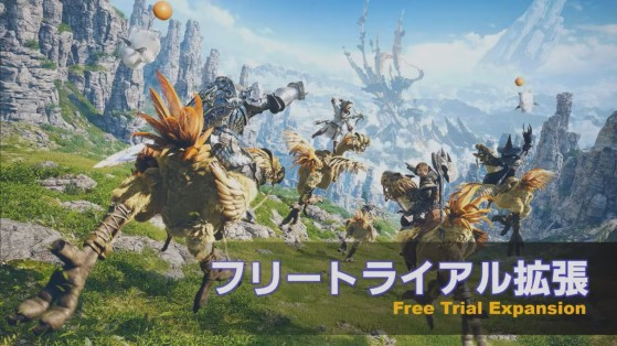 FFXIV Free Trial playable up to level 60, includes Heavensward