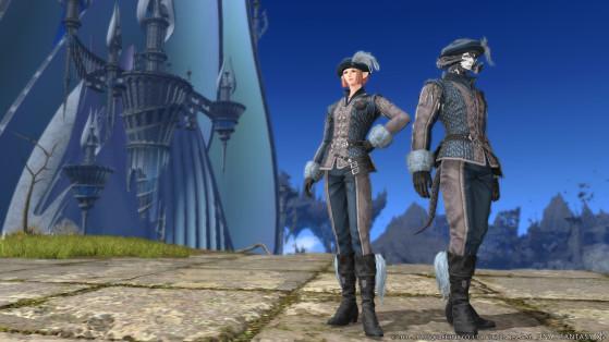 FFXIV 5.31 New Glamour - Ishgardian Restoration - Final Fantasy XIV
