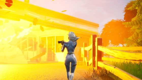 Fortnite Season 4 Week 3 Challenges: Deal damage with exploding Gas Pumps or Gas Cans