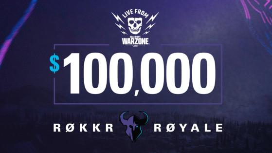 Warzone: ROKKR Royale tournament