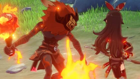 Genshin Impact: Break the sword cemetery seal quest guide
