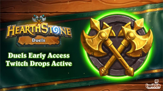 Hearthstone: Duels game mode early access granted on Twitch