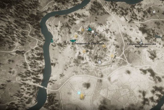 Character cursor to follow - Assassin's Creed Valhalla