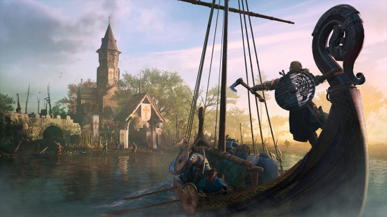 Assassin's Creed Valhalla: easy way to find Nickel Ingots in Lunden