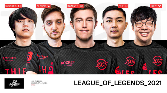 League of Legends: 100 Thieves finalize LCS roster, acquire four players from Golden Guardians