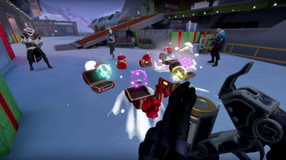 Take part in a frosty snowball fight in Valorant