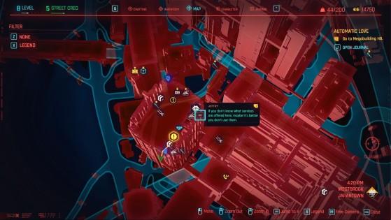 Night City Joytoy Location - Cyberpunk 2077