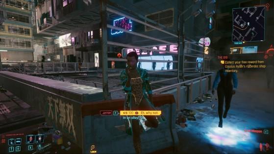 Female Joytoy - Cyberpunk 2077