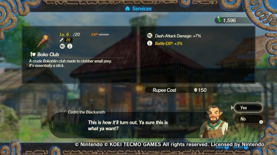 How To Upgrade Weapons In Hyrule Warriors Age Of Calamity Millenium
