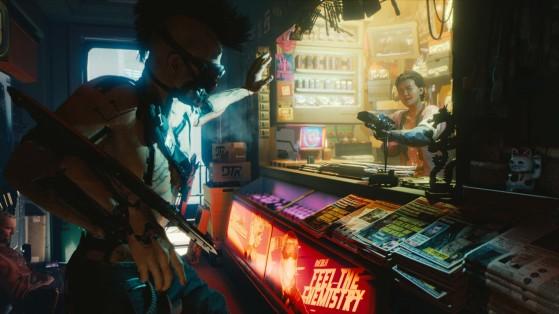 Cyberpunk 2077 Where to find Perk Shard