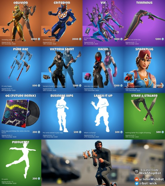 Og Remix 1 Hour Fortnite Embrace The Oblivion With What S In Today S Fortnite Item Shop Millenium