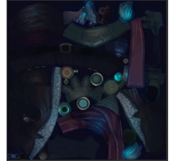 Unidentified Asset (Blue) - League of Legends