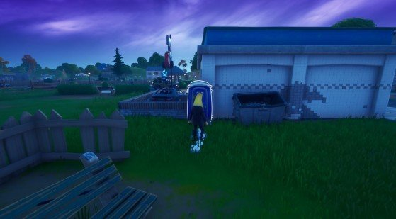 Fortnite Brutus' Briefing: Shadow Safe Houses locations - Millenium
