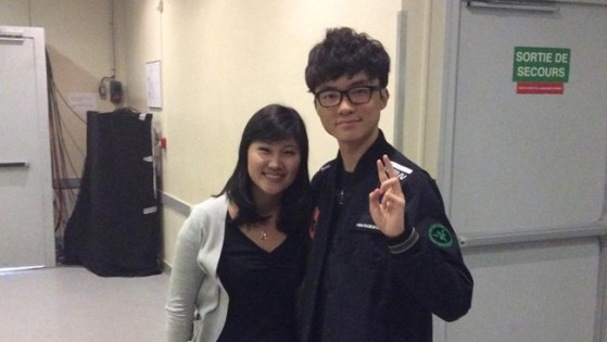Hajin in 2015, while working for Riot Games on a documentary following Faker - League of Legends