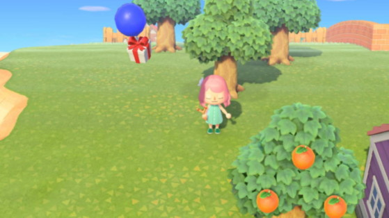 Animal Crossing: New Horizons — Bursting Balloons, Gifts in the Sky