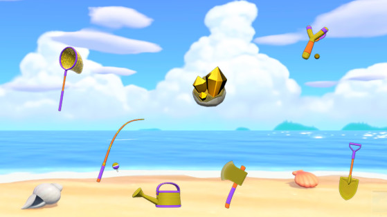 Animal Crossing: New Horizons: how to get the golden tools?