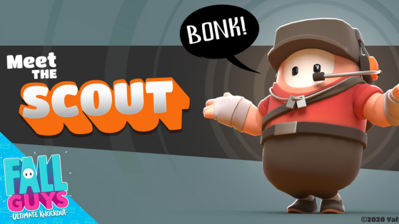 Fall Guys: Team Fortress Scout Skin Comes To The Game