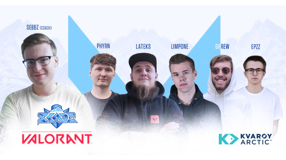 Valorant: SKADE signs the FABRIKEN team
