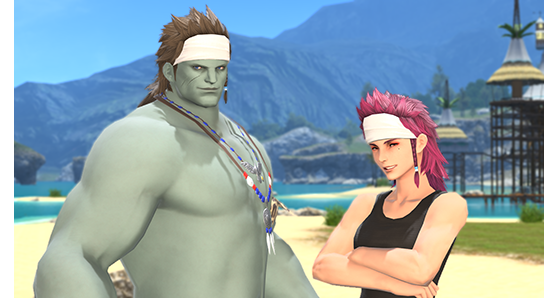FFXIV 5.35 Wind Caller Hairstyle - Final Fantasy XIV