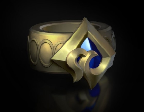 The ring notch shown by Riot on the roadmap of champions - League of Legends