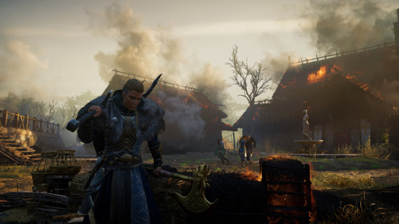 How to dual wield two two-handed weapons in Assassin's Creed Valhalla