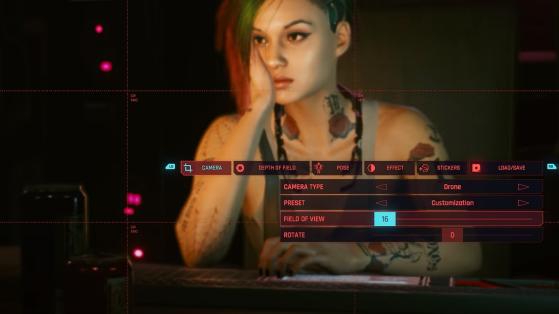 An extensive zoom - Cyberpunk 2077