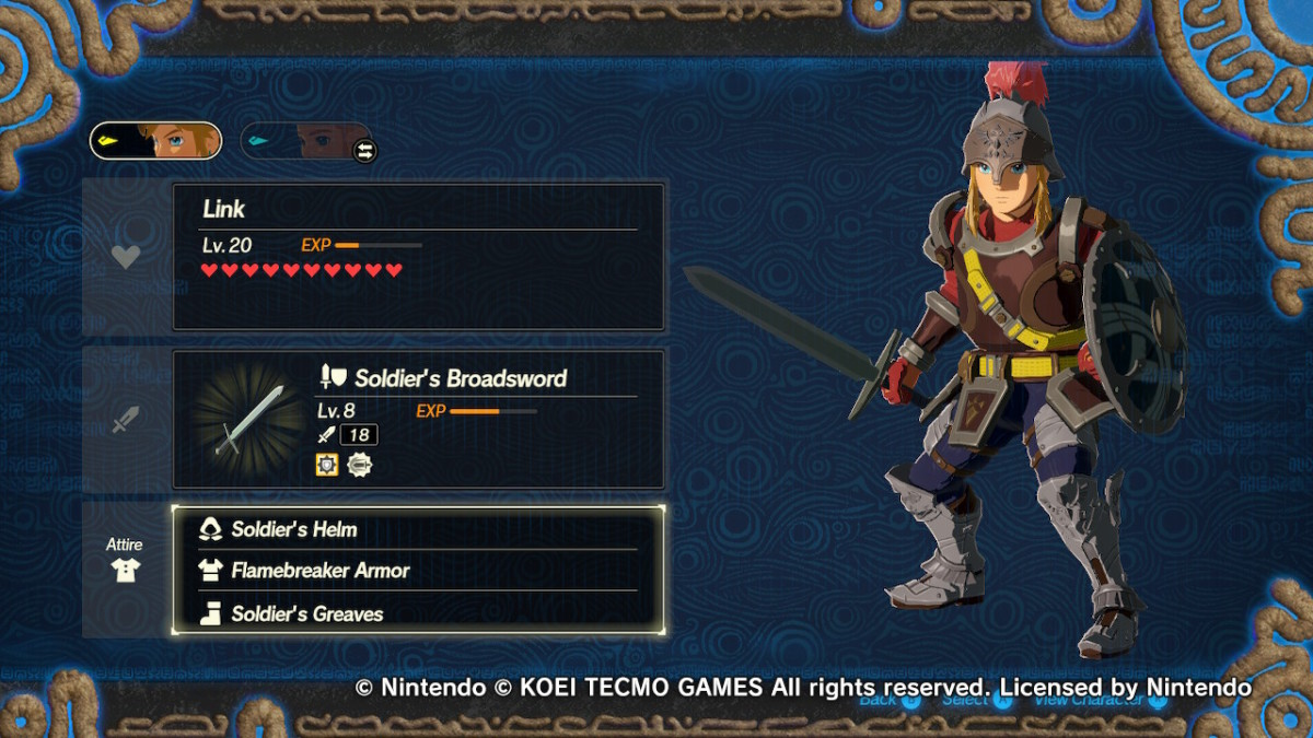 How To Change And Dye Clothes In Hyrule Warriors Age Of Calamity Millenium