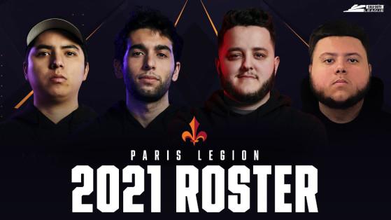 Call of Duty League 2021: Paris Legion unveils roster
