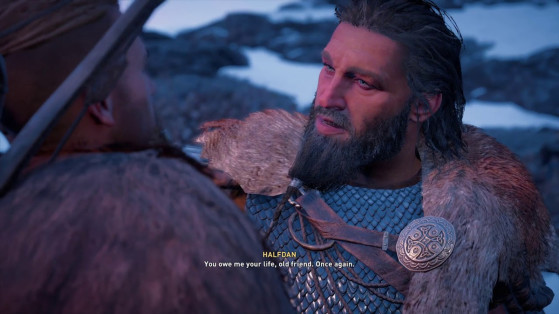 Assassin's Creed Valhalla: Should you choose Halfdan or Faravid in the Of Blood and Bonds quest?