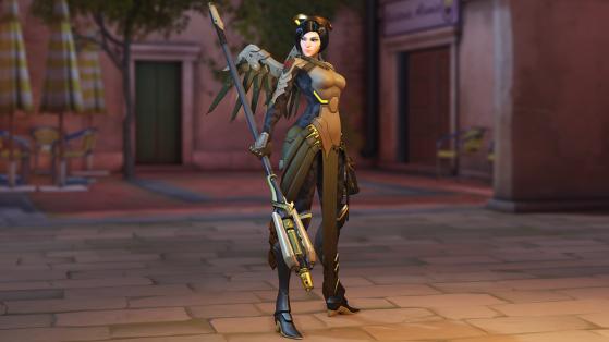 Week 3 - Camouflage Mercy - Overwatch
