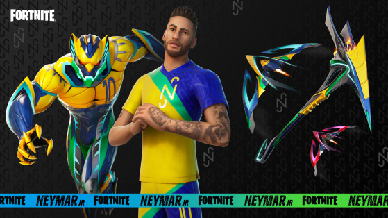 Win an exclusive pair of soccer shoes in Fortnite's Neymar Jr. Cup
