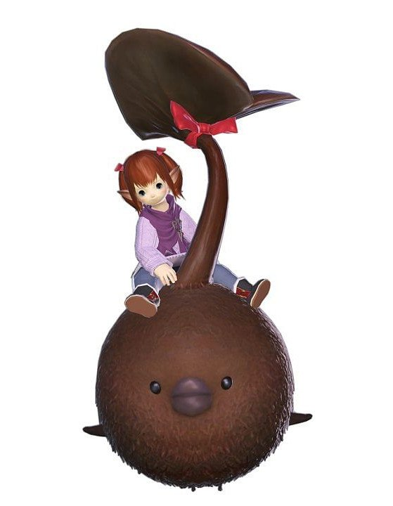 FFXIV Chocorpokkur Mount - Final Fantasy XIV