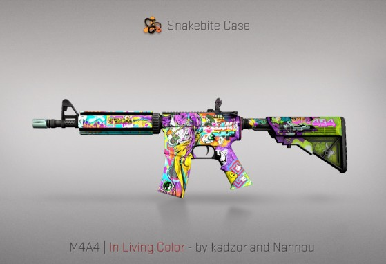 M4A4 In Living Color - CS:GO