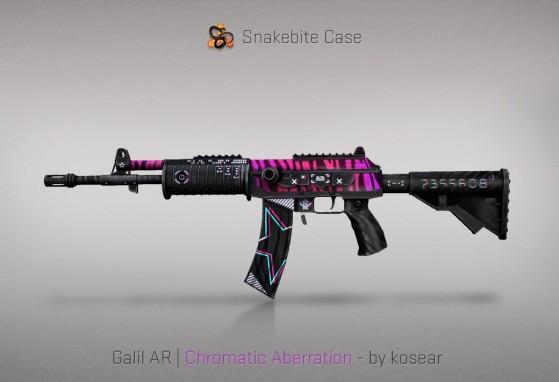 Galil AR Chromatic Aberration - CS:GO