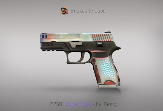 P250 Cyber Shell - CS:GO