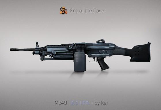 M249 O.S.I.P.R - CS:GO