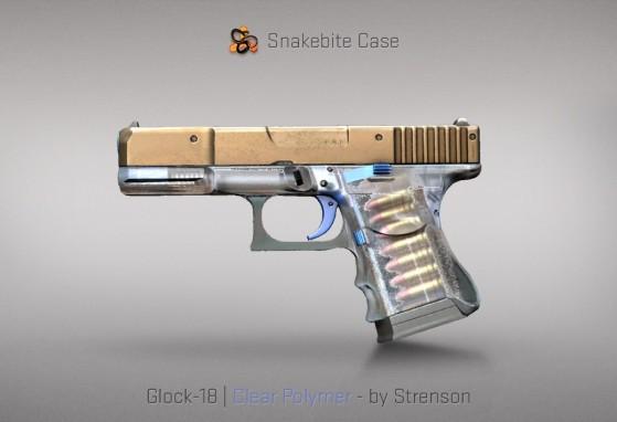 Glock-18 Clear Polymer - CS:GO