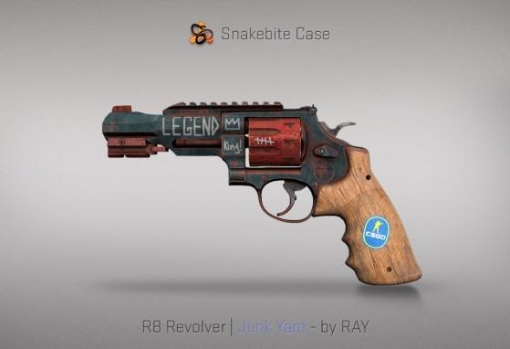 R8 Revolver Junk Yard - CS:GO