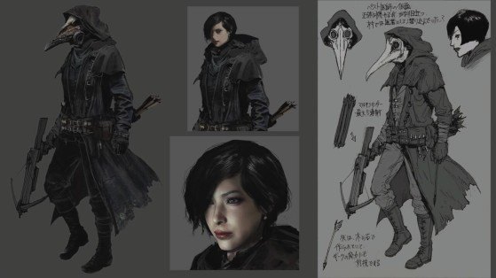 Ada Wong was originally planned for Resident Evil Village