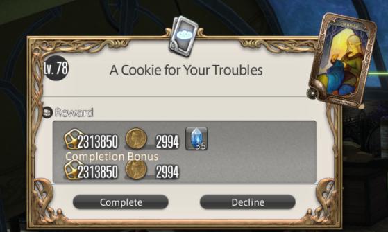 FFXIV Gil Farming Coffee Cookies - Final Fantasy XIV