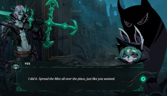 This is how Vex appears in the current Sentinels of Light event - League of Legends