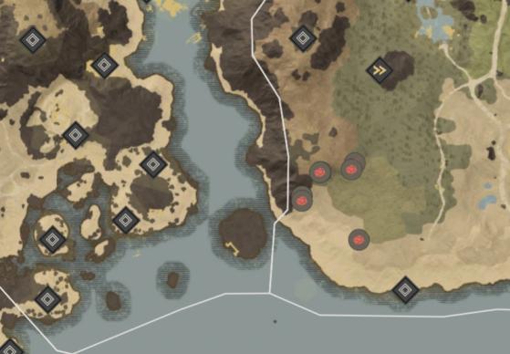 Orichalcum Ore Locations in Reekwater. - New World