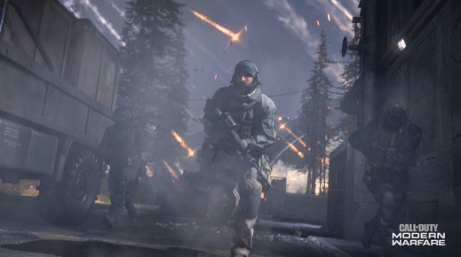 Night-time Variants On Call Of Duty: Modern Warfare Maps