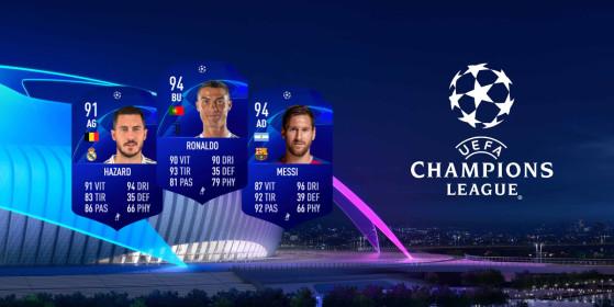 uefa champions league rare player