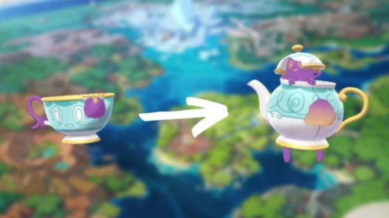 Pokemon Sword & Shield: Sinistea evolution, Polteageist