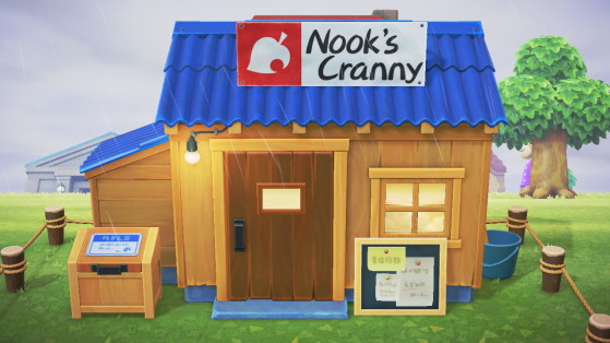 Animal Crossing: New Horizons: How to unlock Nook's Cranny