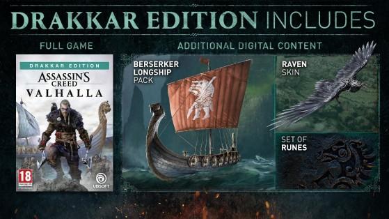 Assassin S Creed Valhalla Drakkar Edition Millenium