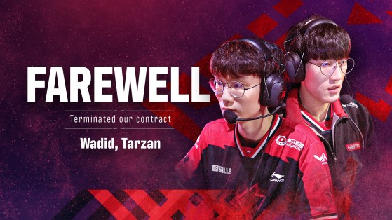 LoL, LCK: Tarzan and Wadid leave Griffin