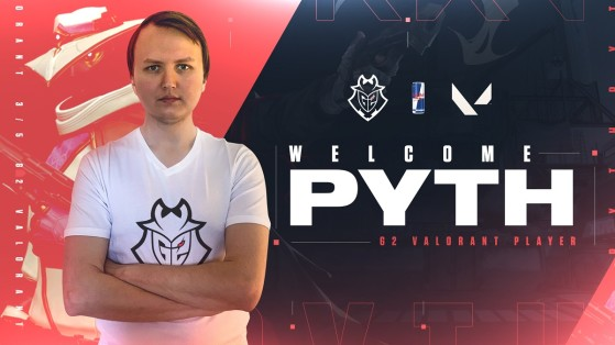 Valorant: G2 completes its roster with Pyth